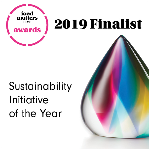Brades announced as finalists for Sustainability Initiative of the Year at food Matters Live Awards 2019